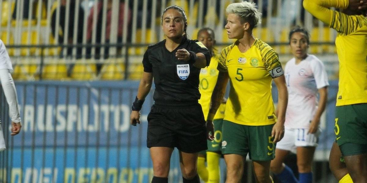 La árbitra chilena María Belén Carvajal tiene partido para su debut en el Mundial de Francia