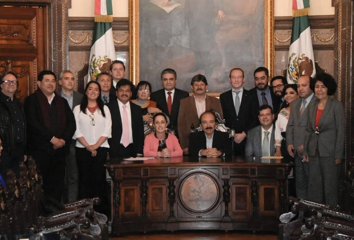 También lo integran representantes del Congreso y de la CDH.
