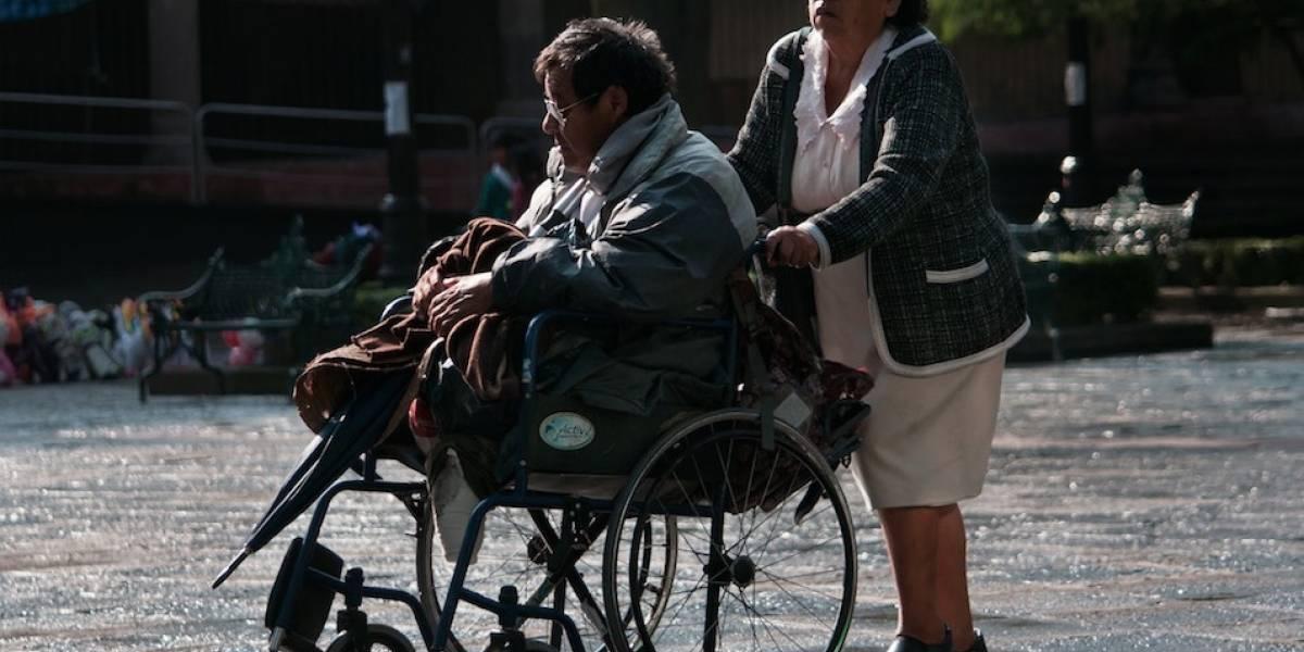 Medio millón de capitalinos viven con alguna discapacidad