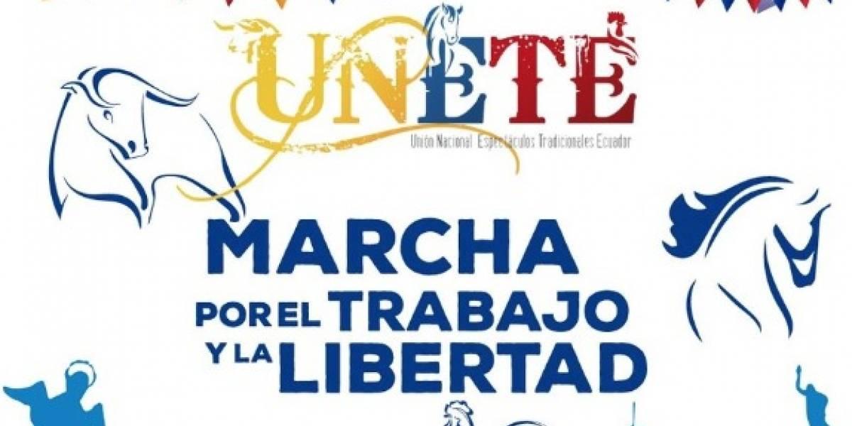 Quito: Esta es la ruta de la 'Marcha por el Trabajo y la Libertad' que se realizará este 3 de diciembre