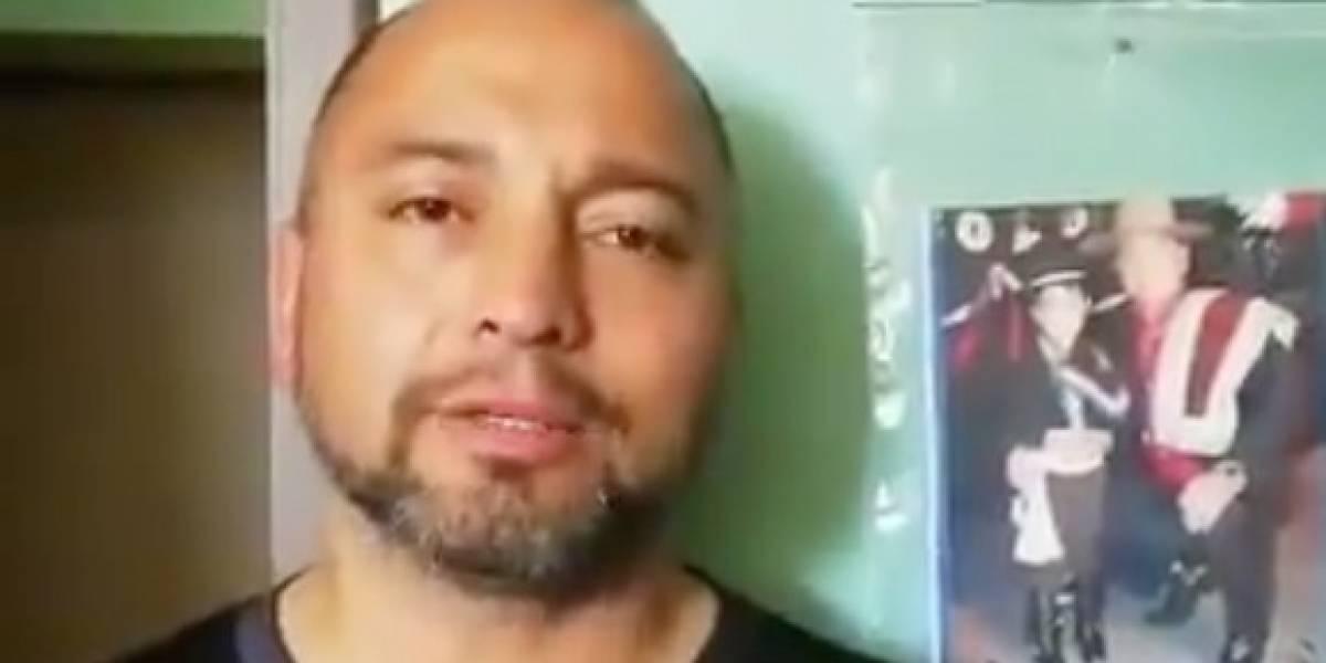 """""""Hay gente que nos hizo mentir y ahora nosotros somos los más malos"""": imputado por homicidio a Catrillanca sorprende con polémico video"""