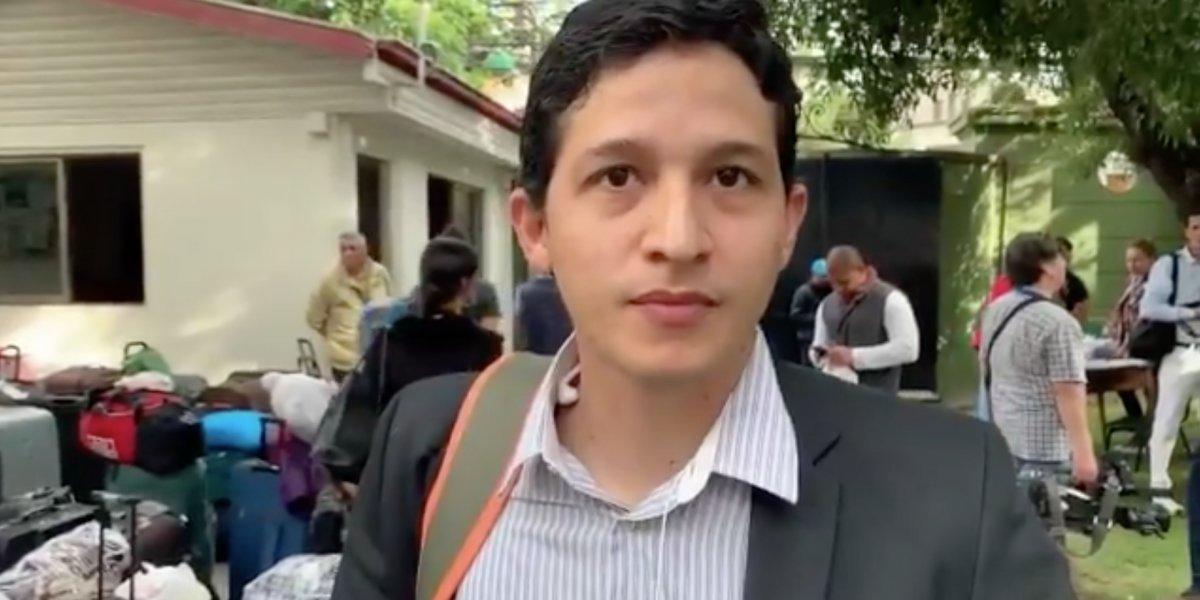 """""""Chile está mal, hay inflación"""": la insólita razón de uno de los 84 venezolanos para volver a su patria con Maduro"""