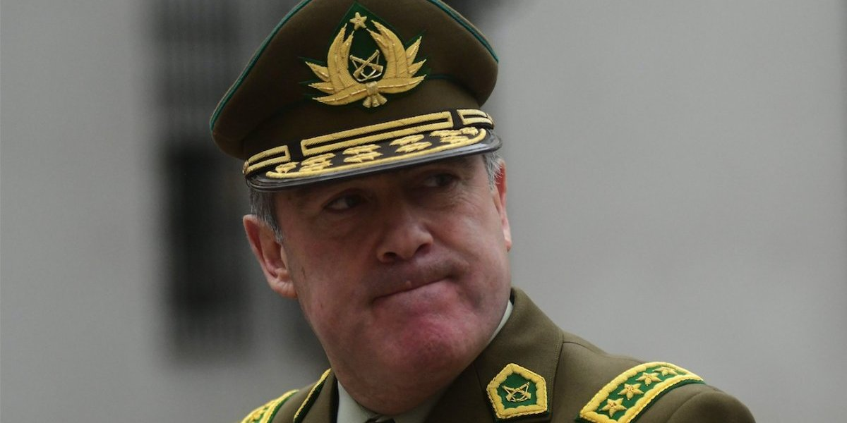 Tras caso Catrillanca: Hermes Soto es primer general director de Carabineros removido por el artículo 104 de la Constitución