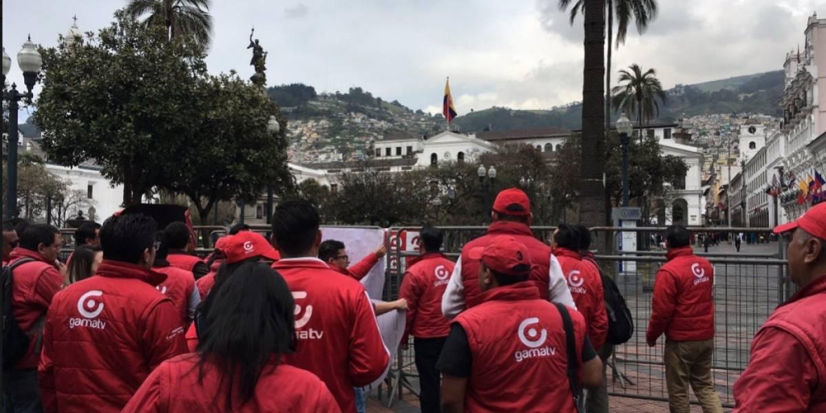 María Paula Romo se disculpa con trabajadores de Gamavisión