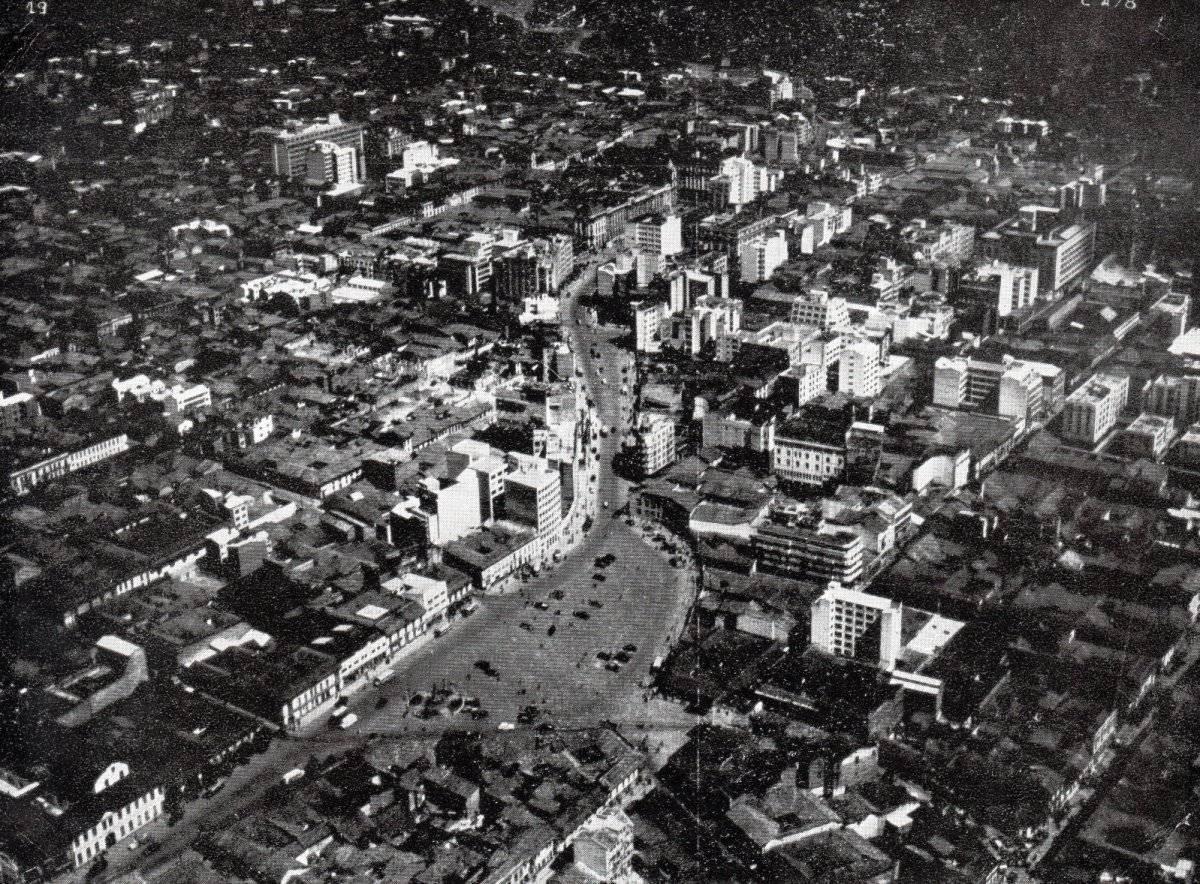 Bogotá antigua Cortesía Sociedad de Mejoras y Ornato de Bogotá