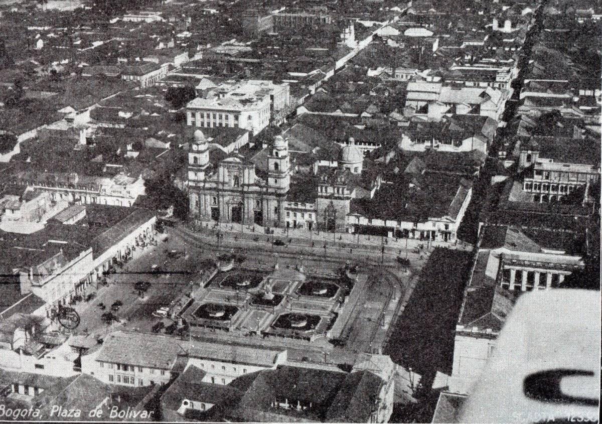 Bogotá antigua Cortesía Sociedad de Mejoras y Ornato