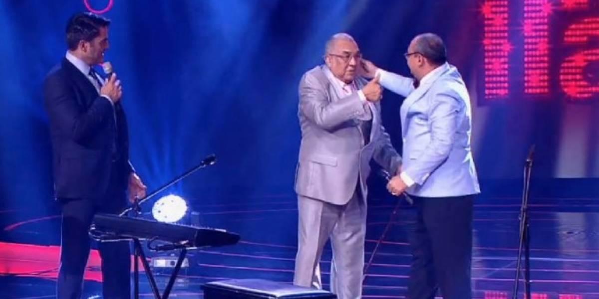 ¡Mar de lágrimas! La visita de Alci Acosta a su imitador en 'Yo me llamo' fue el momento más emocionante de la noche