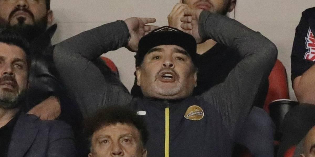 Maradona perdió una increíble final y se quedó sin título en el ascenso mexicano