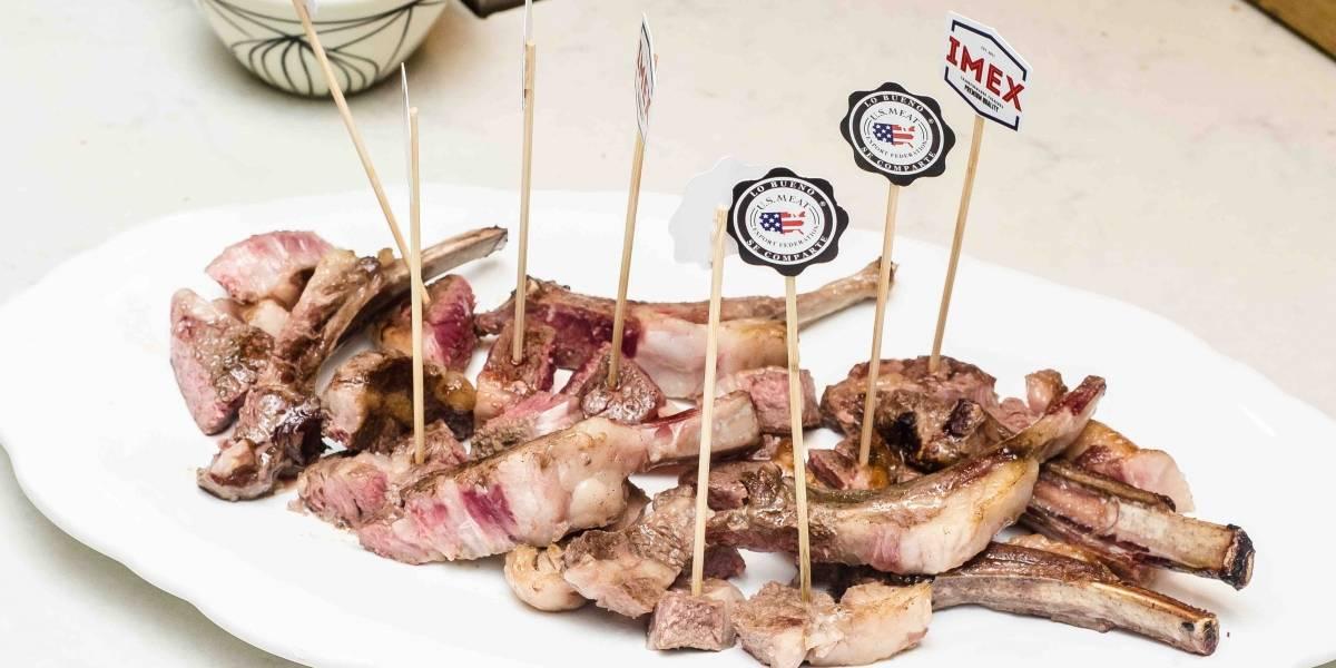 Ejecutivos de Imex y U.S Meat sostienen conversatorio sobre la carne de cordero