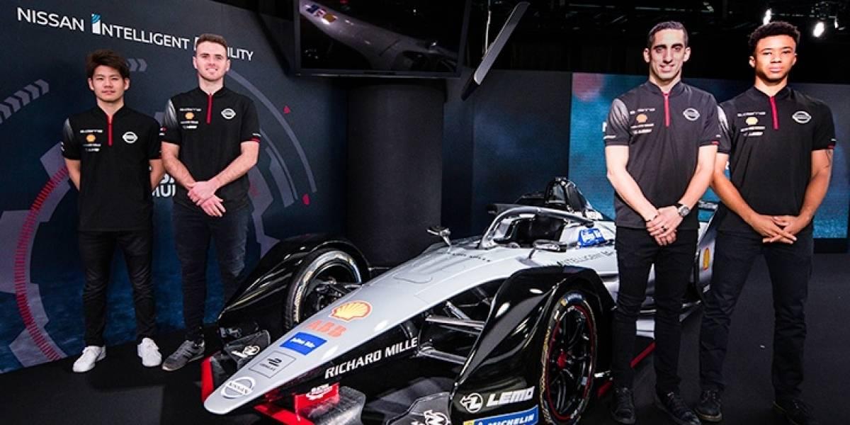 Nissan completa su formación para la Fórmula E 2018-2019