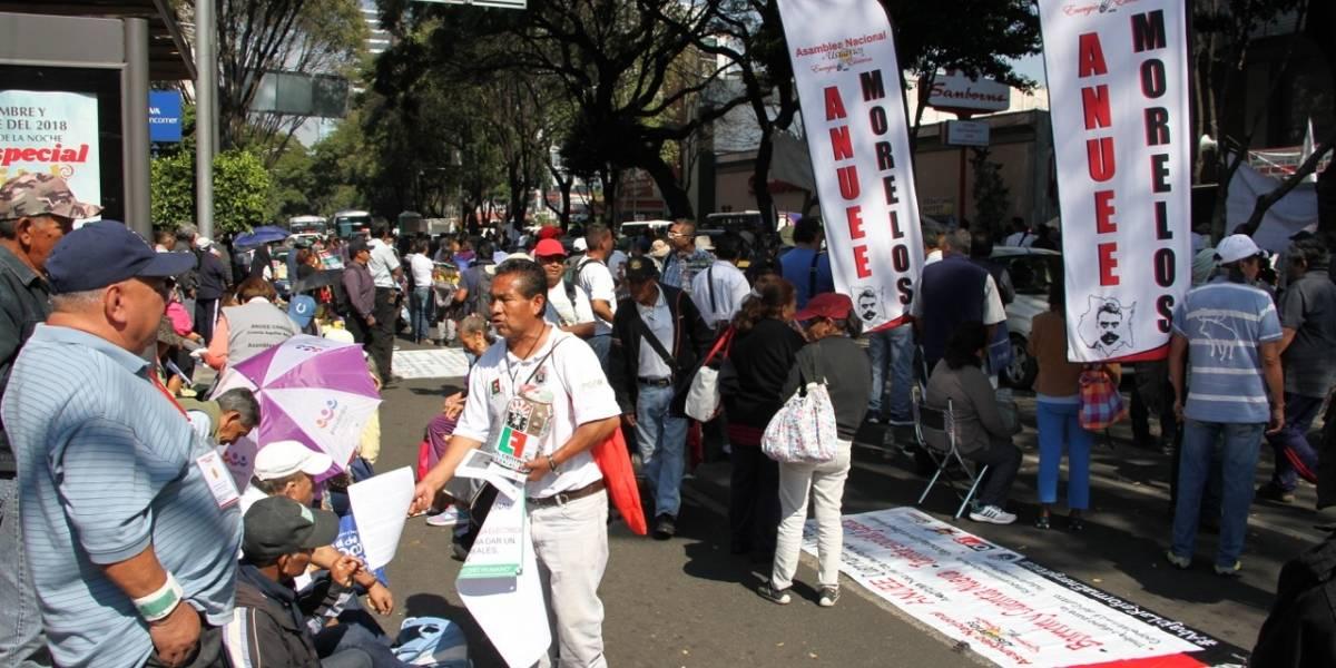 SME y usuarios desquician Insurgentes con protesta contra altas tarifas eléctricas
