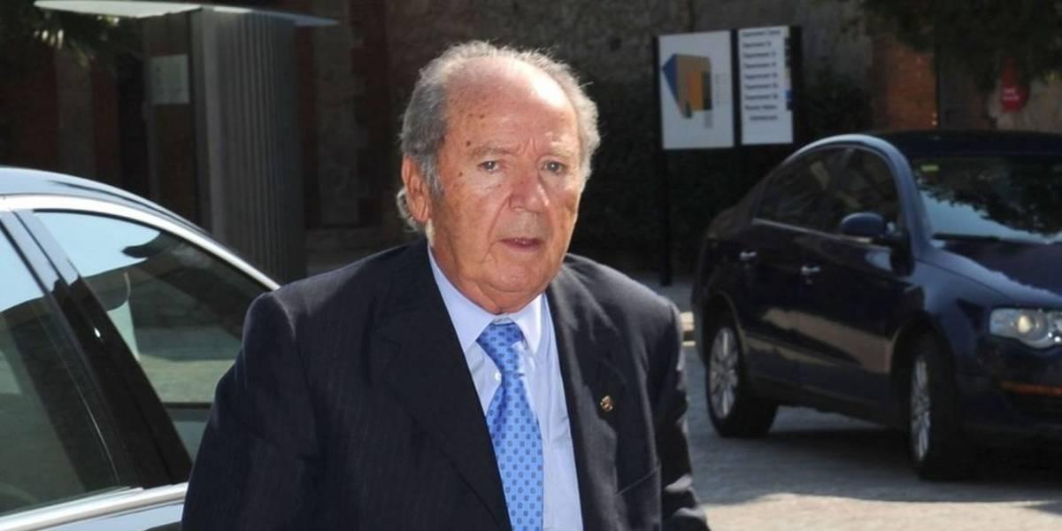 Muere Josep Lluís Núñez, ex presidente del Barcelona