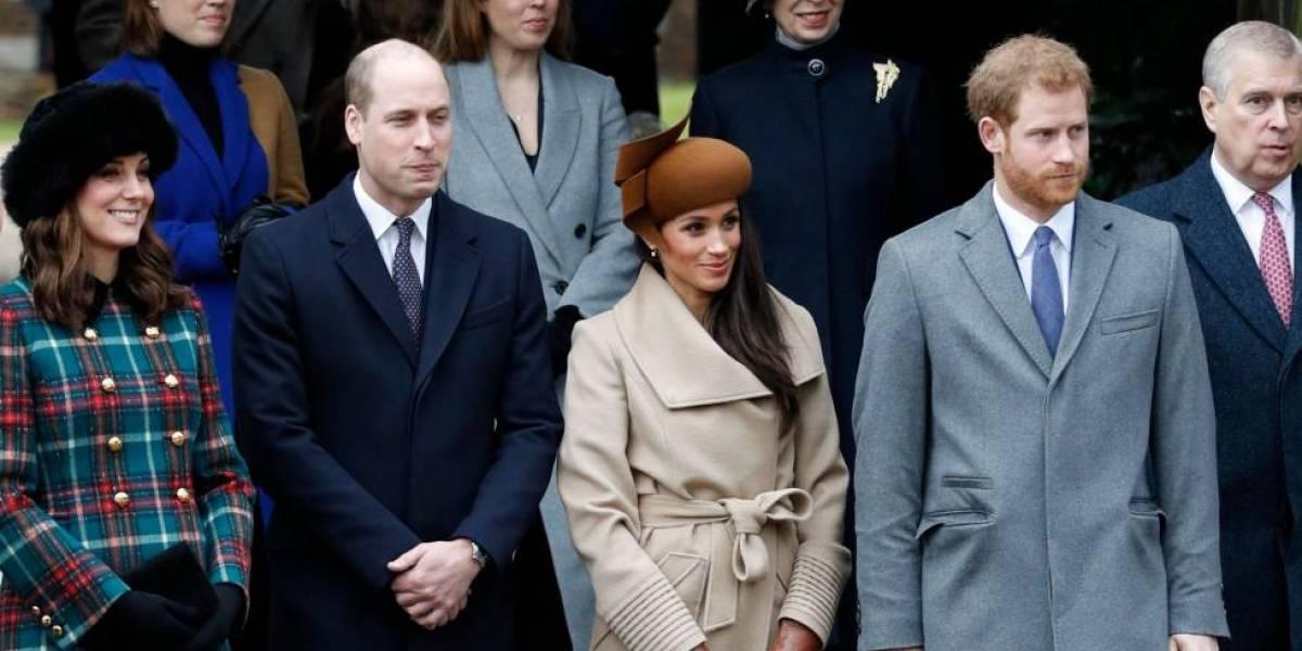 ¿Los príncipes Harry y William no pasarán juntos la Navidad por culpa de Meghan Markle?