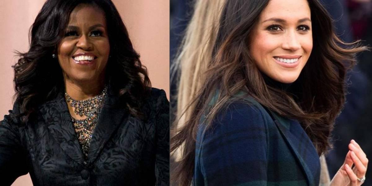 El valioso consejo de Michelle Obama a Meghan Markle para adaptarse a la realeza y dejar huella