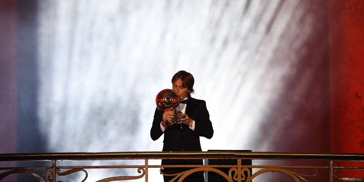 Luka Modric rompe el duopolio Cristiano-Messi y se queda con el Balón de Oro al mejor del año