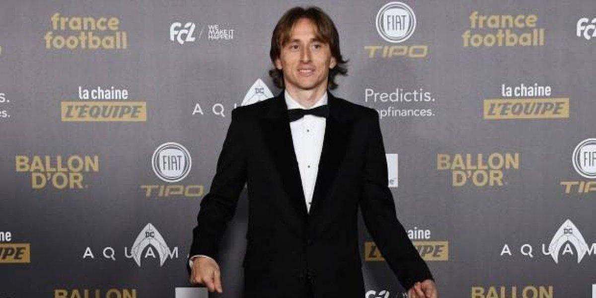 Balón de Oro: Luka Modric ganó el galardón al futbolista del año 2018