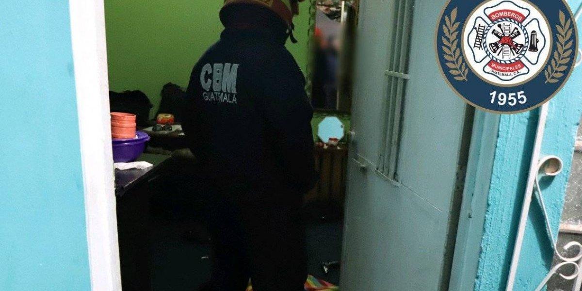 Hombre muere por una herida de bala en vivienda de Mixco