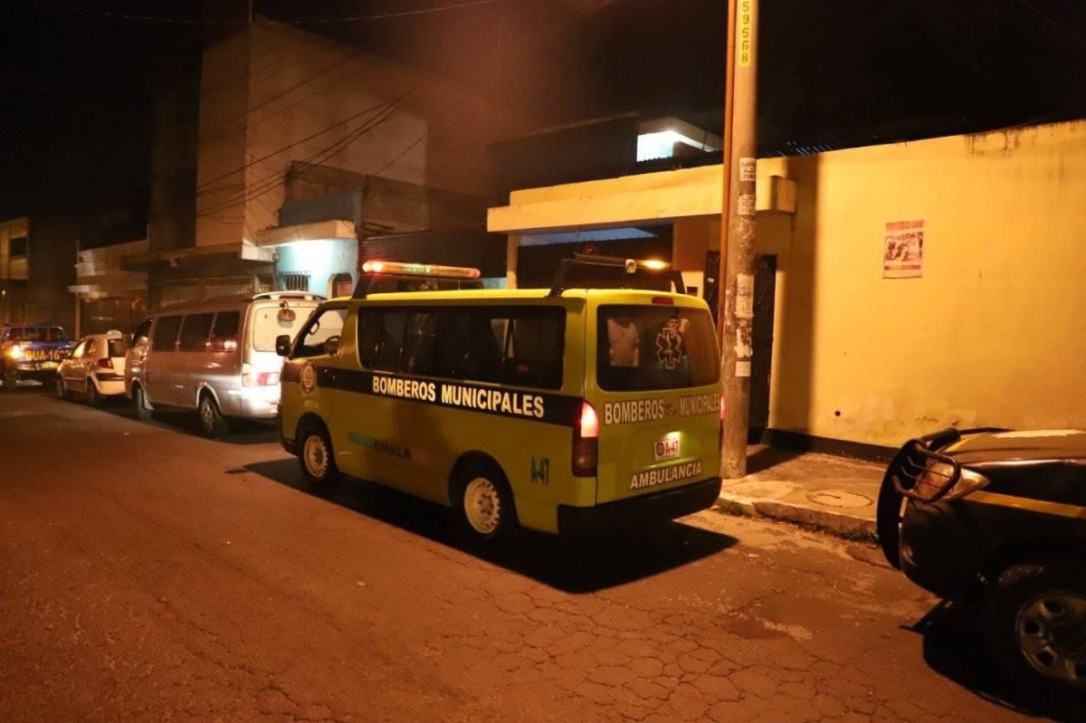 persona fallecida en Colinas de Minerva, zona 11 de Mixco