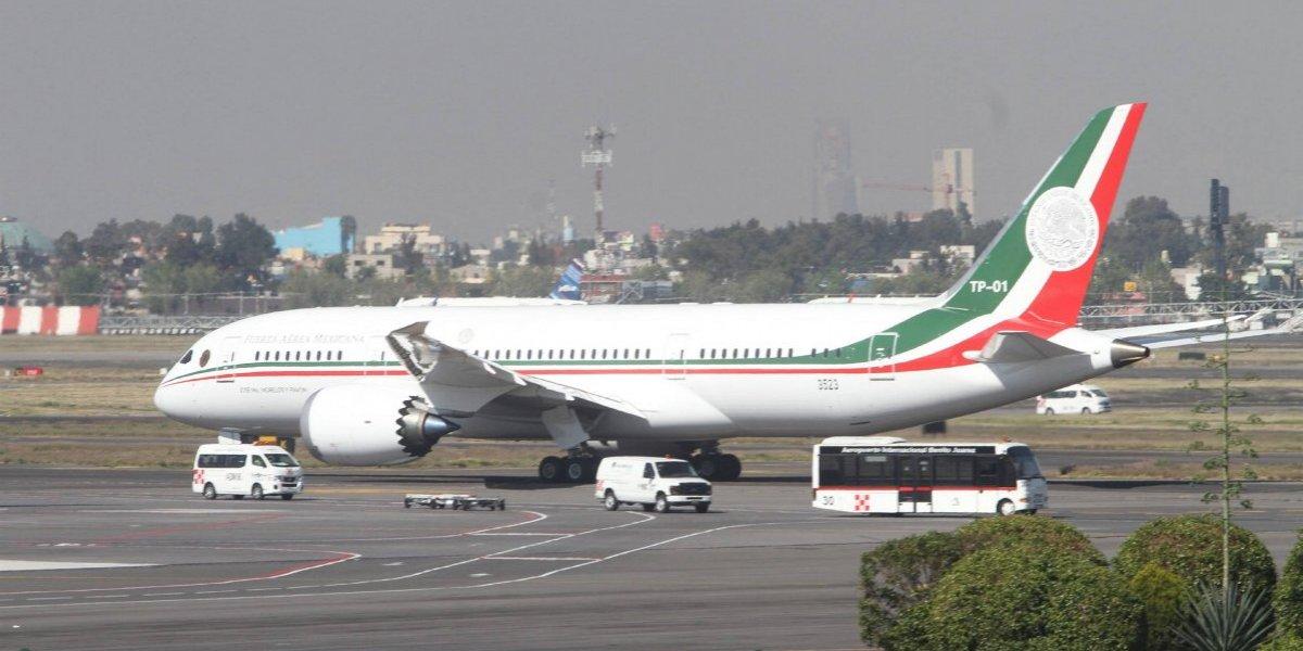 Inicia el proceso de venta del avión presidencial