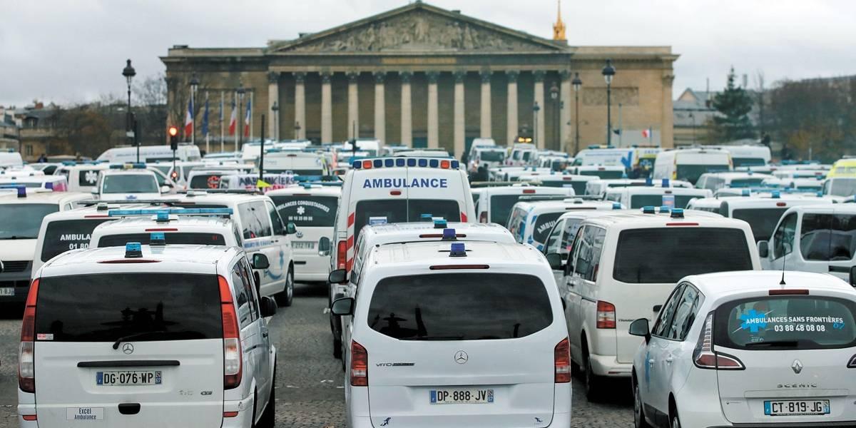 Protestos já afetam economia da França