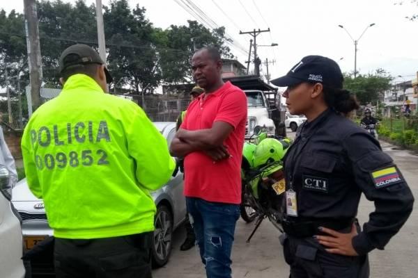 Policías Cali banda criminal