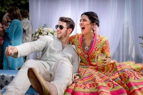 1ada414c6 Priyanka y Nick comparten su primera fotografía luego de épica boda de  cuatro días
