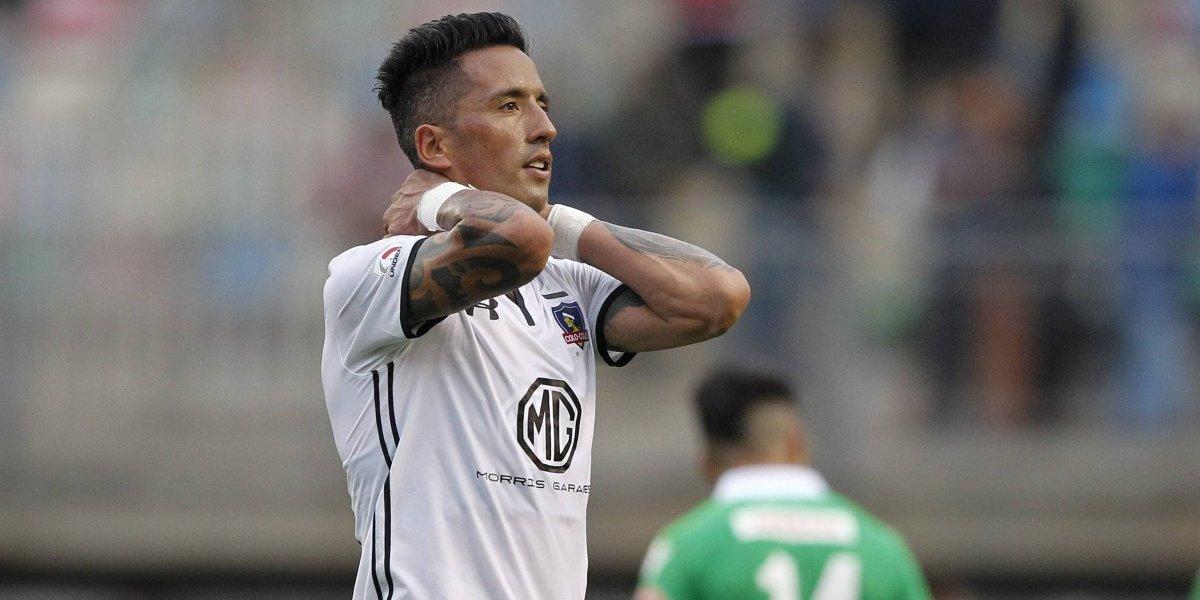 """Lucas Barrios pidió su salida: """"No estaba contento, hay un Colo Colo muy dividido"""""""