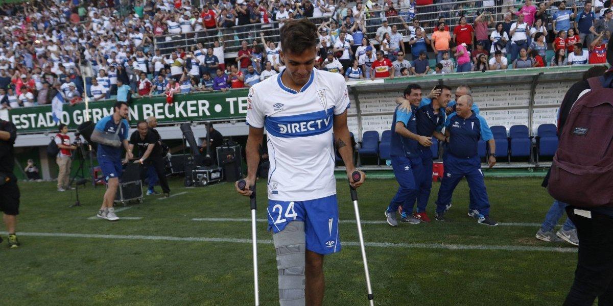 Ignacio Saavedra sufrió esguince de rodilla y queda fuera del Sudamericano Sub 20
