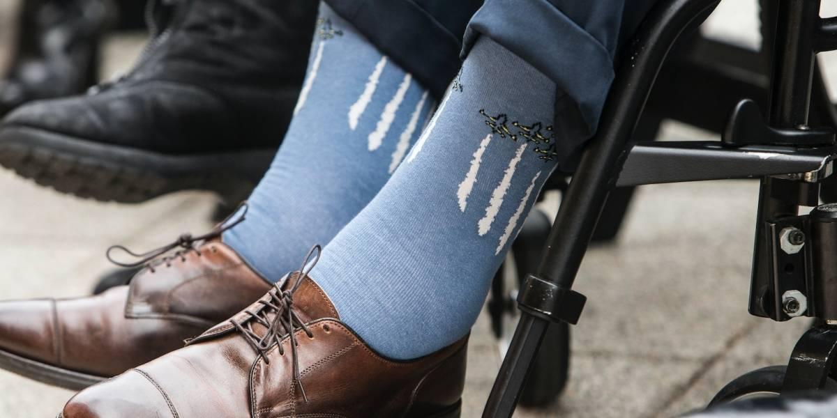 George H.W. Bush usó calcetas como medio de expresión