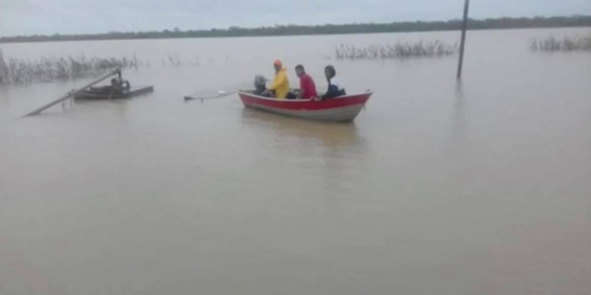 Barco vira no rio São Francisco e deixa mortos e desaparecidos na Bahia