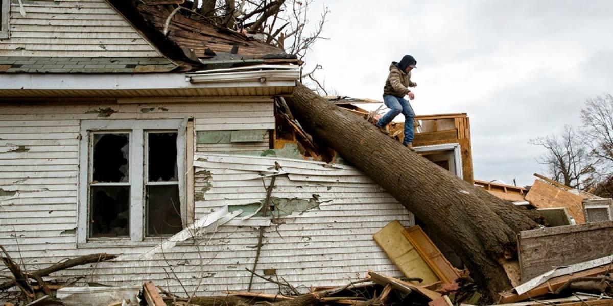 Un muerto tras inusuales tornados decembrinos en EE. UU.