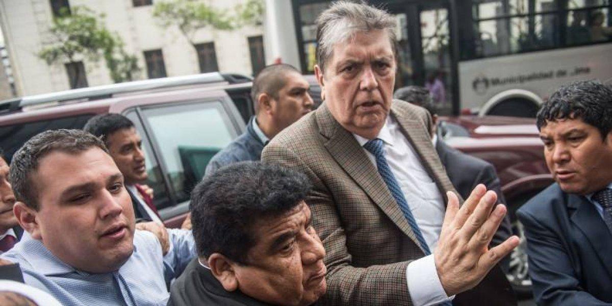 Uruguay rechaza pedido de asilo de expresidente Alan García