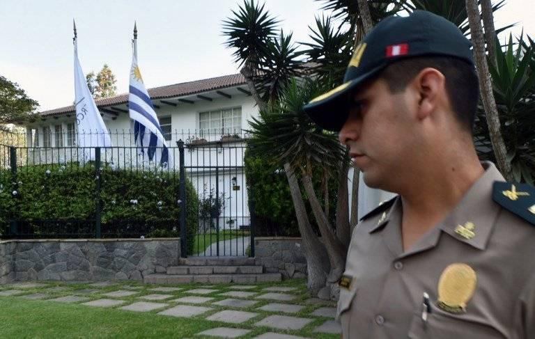 Embajada uruguaya en Lima