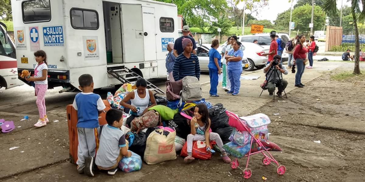¿Qué pasará con los venezolanos alojados junto a la Terminal de Cali?, esto dijo la Alcaldía