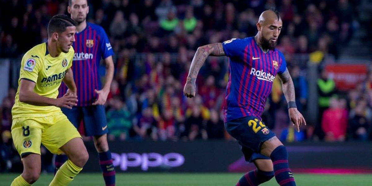 """En Cataluña se rinden a Arturo Vidal: """"Es el jugador con más carácter del Barcelona"""""""