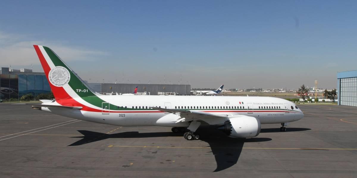 Avión presidencial regresará a México para ser exhibido