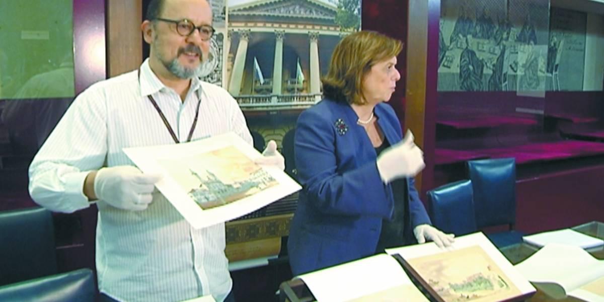Desenhos roubados há 14 anos voltam à Biblioteca Nacional