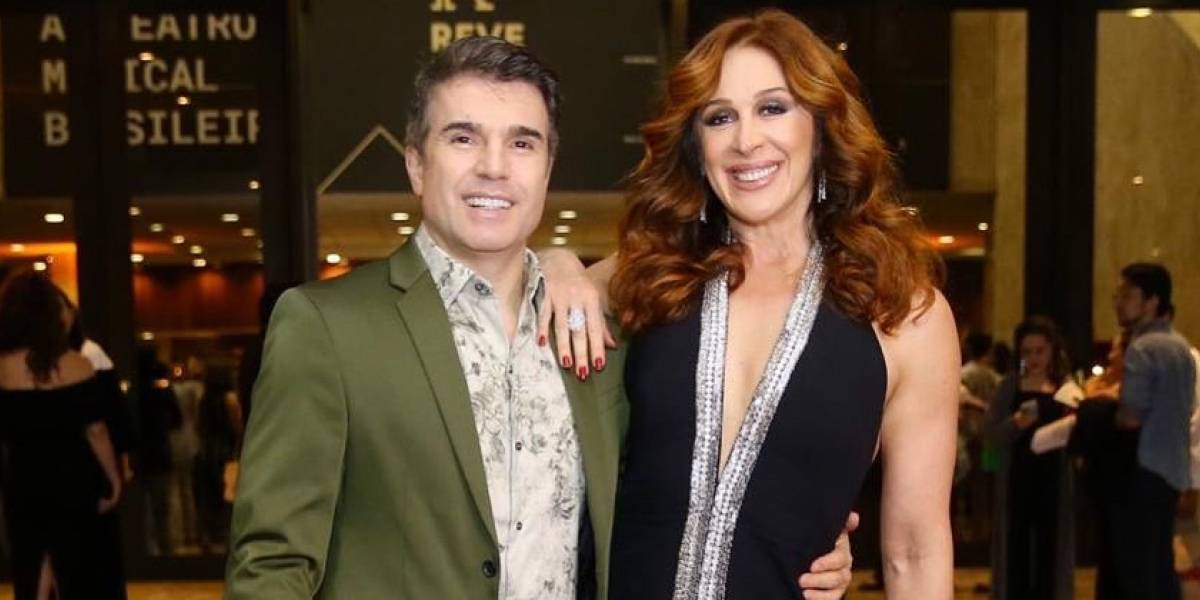 Após oito anos de namoro, Cláudia Raia e Jarbas Homem de Mello vão se casar
