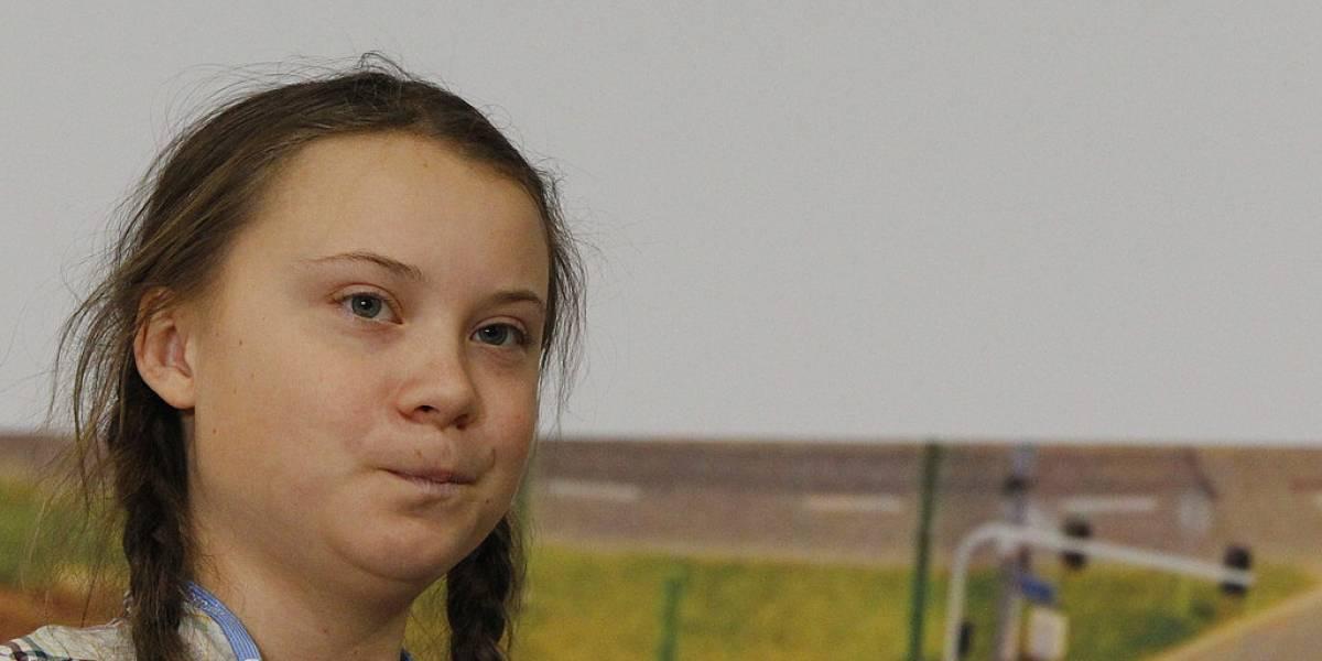 Con tan sólo 15 años: niña sueca es ejemplo de la  lucha contra el  cambio climático