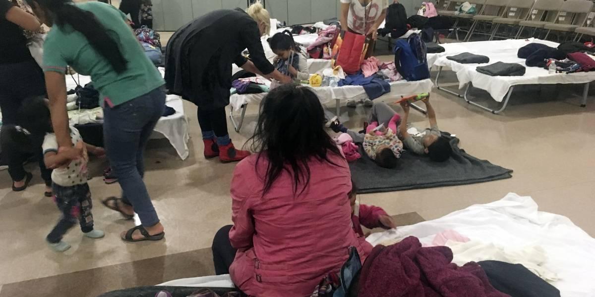 Albergues para migrantes centroamericanos sufren merma de suministros