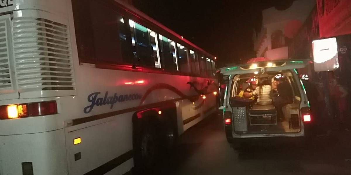 Asalto a bus en El Progreso deja un herido