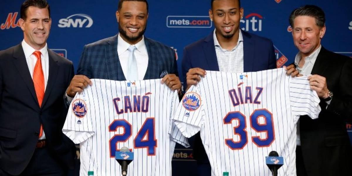 Presentaron a Robinson Canó en los Mets