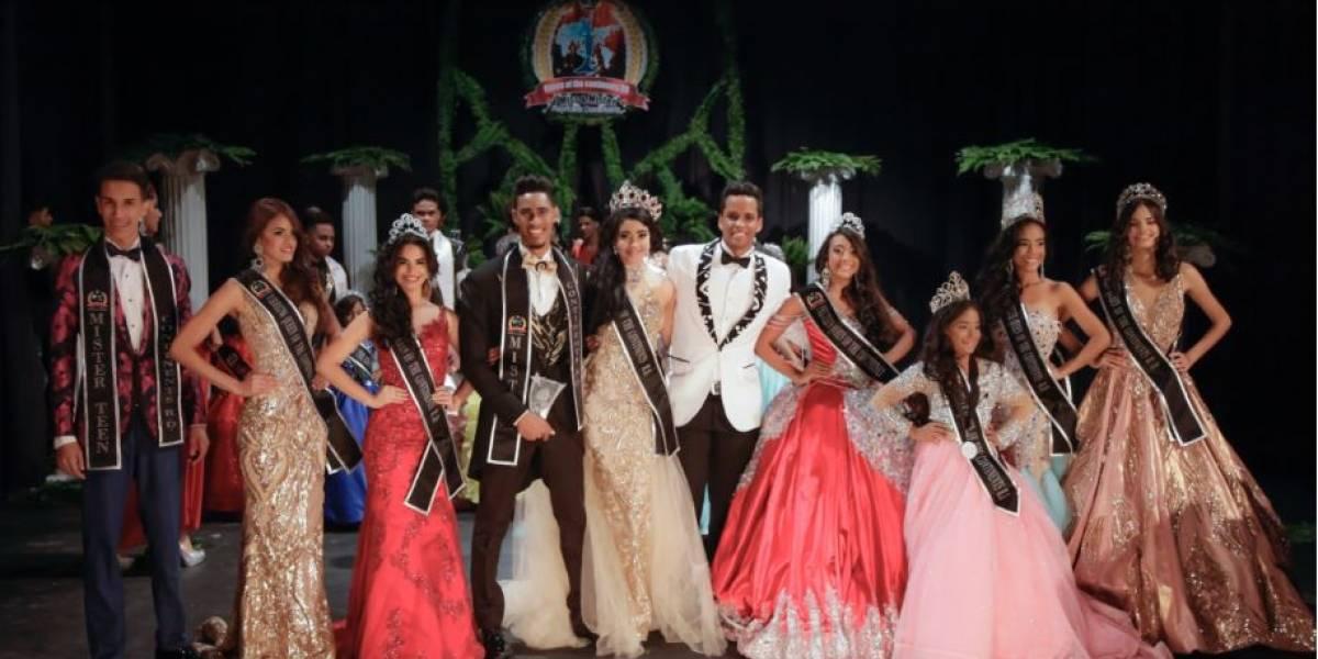 Coronan a nuevos monarcas del Miss y Míster Continents RD