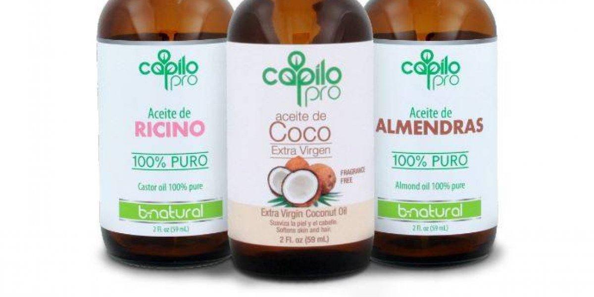 Nuevos aceites de Almendra, Ricino y Coco Extra Virgen de Capilo; ideales para el cuidado del cabello y la piel