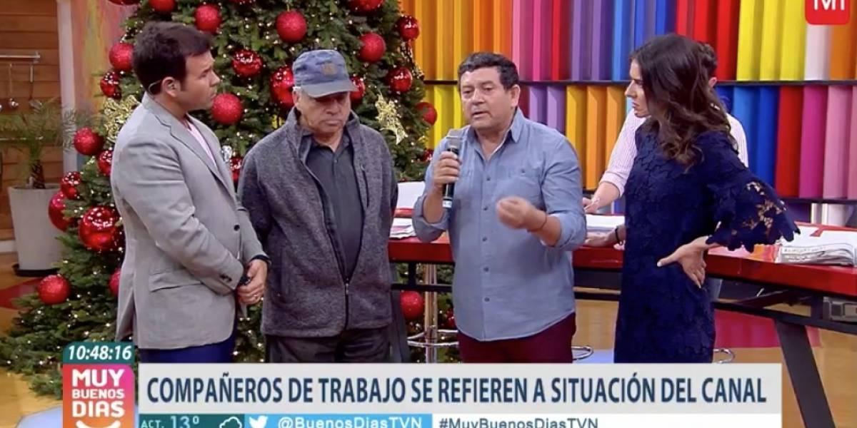 """Presidente de sindicato de TVN interrumpe matinal tras ola de despidos: """"La forma en que se hizo es horrible"""""""