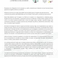 María Alejandra Vicuña renuncia al cargo de vicepresidenta