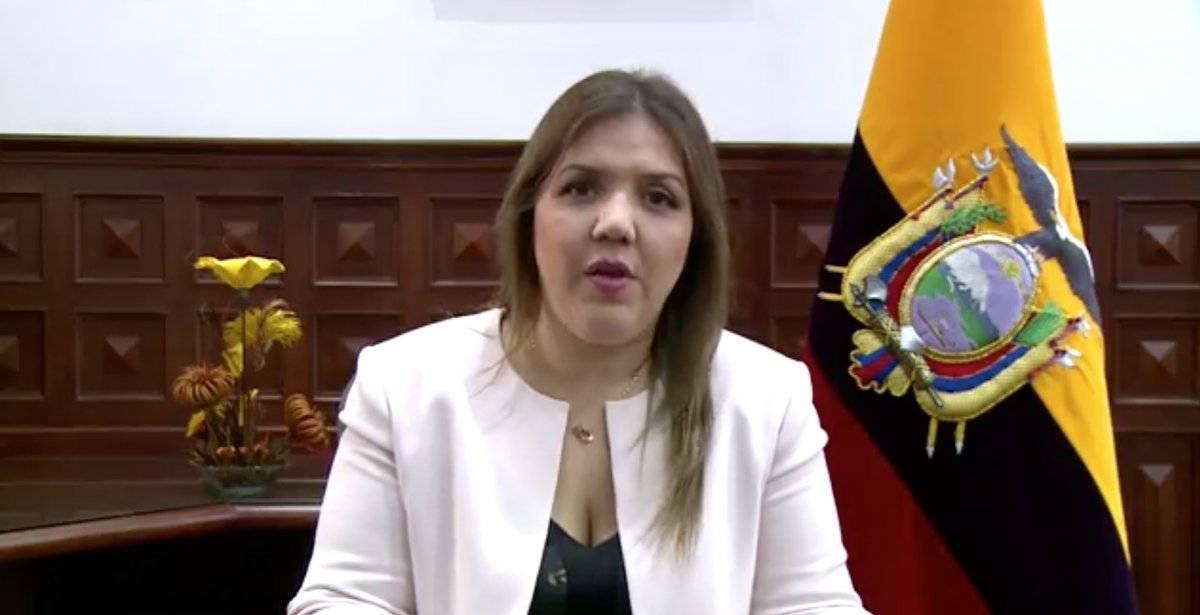 Exvicepresidenta María Alejandra Vicuña será procesada penalmente por concusión Captura de pantalla
