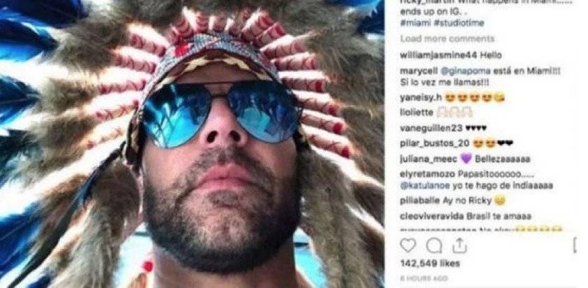 Foto de Ricky Martin genera controversia en redes sociales ¿por qué?