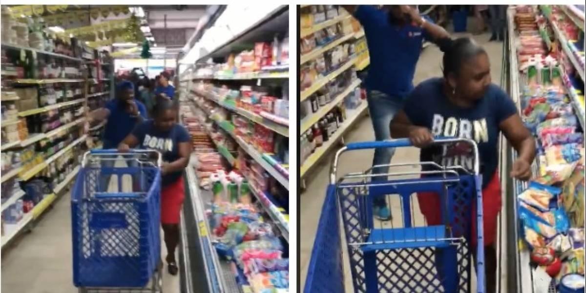 """Supermercado le dará una segunda oportunidad a la señora que malgastó su """"Minuto millonario"""""""