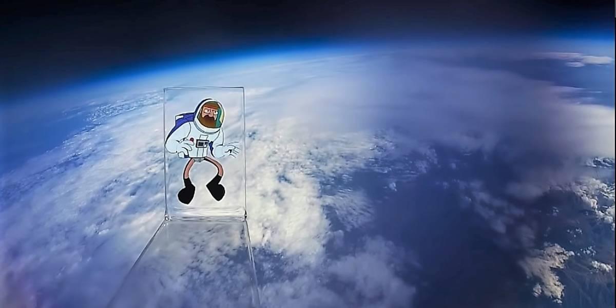 El primer dibujo animado en el espacio es chileno y parte de la nueva serie Crononauta